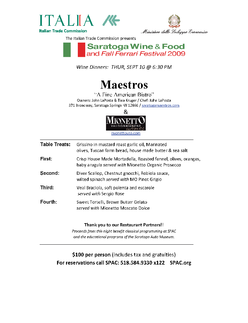 fun in saratogamaestro\u0027s hosting saratoga wine and food festival event on september 10th