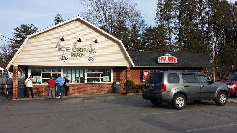 Ice cream man saratoga
