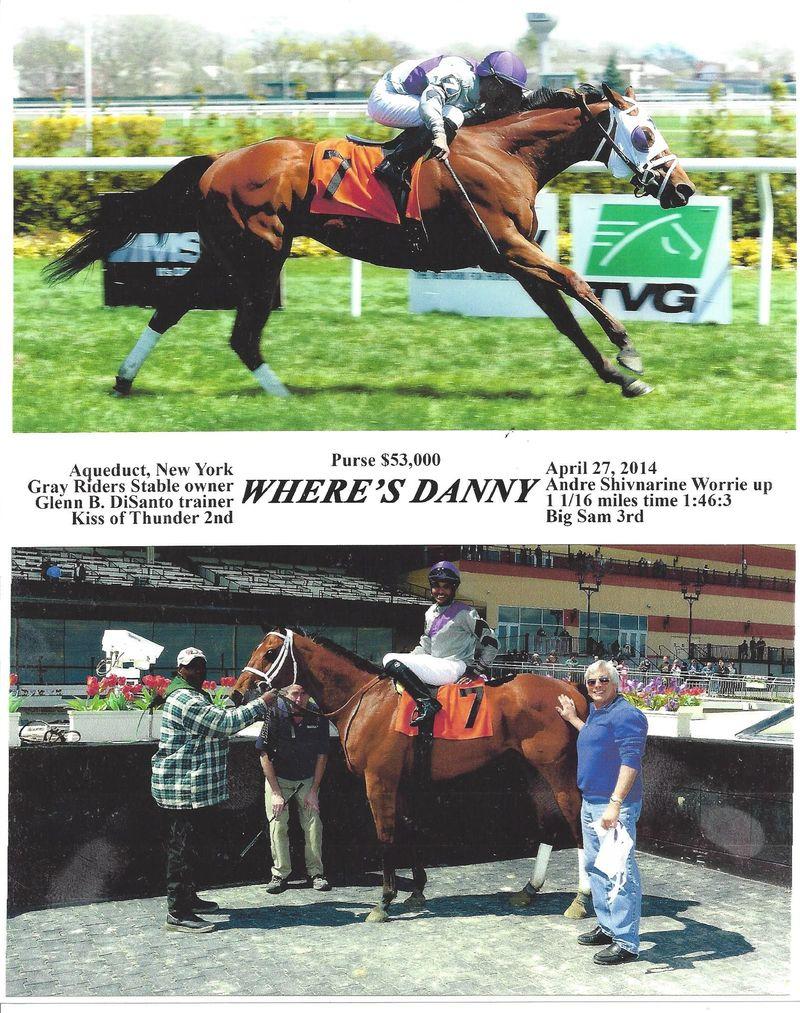 Where's Danny win